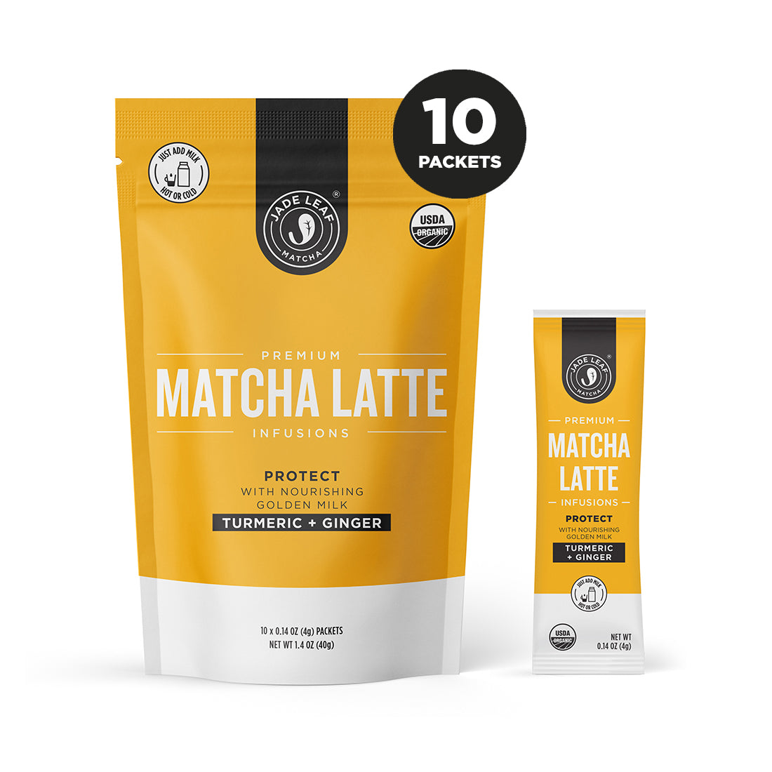 Matcha Latte Infusions - PROTECT - 10 PACKETS - Hero