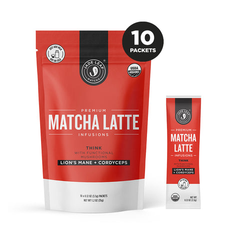 Matcha Latte Infusions - THINK - 10 PACKETS
