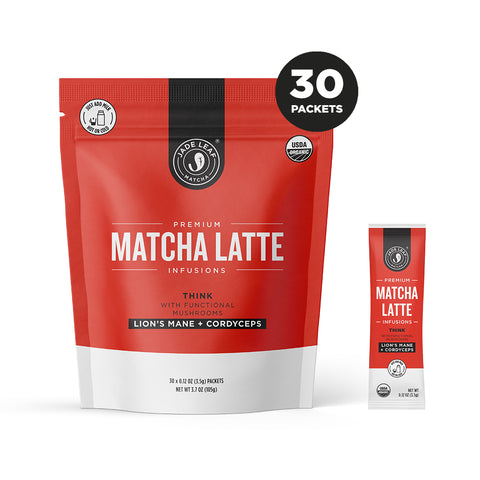 Matcha Latte Infusions - THINK - 30 PACKETS