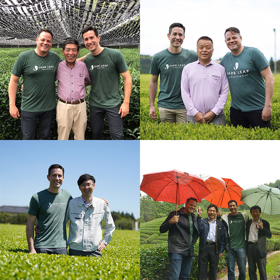 Jade Leaf Matcha Founders and Farmers