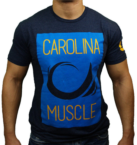 Navy Carolina Muscle Surface Tee