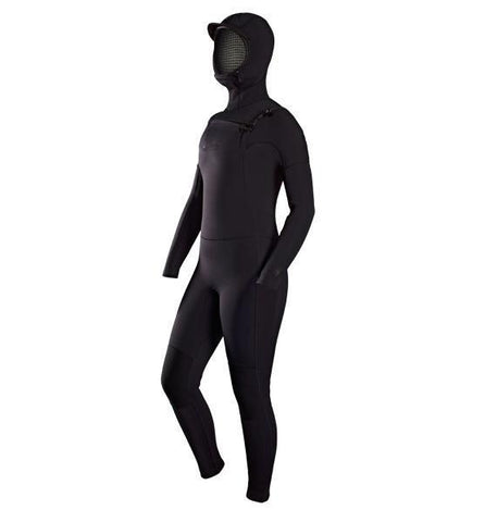 ADELIO WOMANS 5/4 HOODED HARPER STEAMER WETSUIT