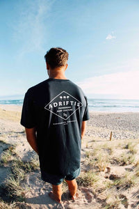 Mens Diamond Tee | Adrift Essentials Online Shopping | Surf Collective of Male & Female Clothing & Accessories