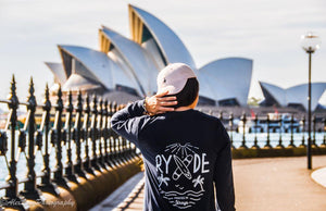 Straya Longsleeve ~ Navy Blue | Adrift Essentials Online Shopping | Surf Collective of Male & Female Clothing & Accessories