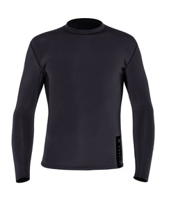 ADELIO MYER 1.5MM BLACK L/S VEST