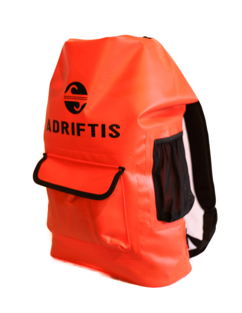 f0301544893 Waterproof Backpack - Orange – Adrift Essentials