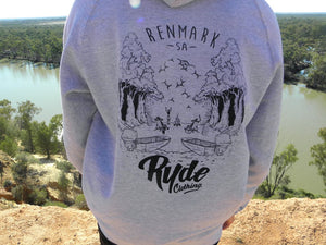 Hometown Hoodie ~ Grey | Adrift Essentials Online Shopping | Surf Collective of Male & Female Clothing & Accessories