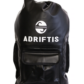 Waterproof Backpack - Black | Adrift Essentials Online Shopping | Surf Collective of Male & Female Clothing & Accessories