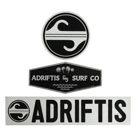 Freedom to Glide Sticker Pack | Adrift Essentials Online Shopping | Surf Collective of Male & Female Clothing & Accessories