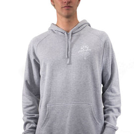 Mens Tropical Grey Hoodie | Adrift Essentials Online Shopping | Surf Collective of Male & Female Clothing & Accessories