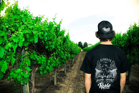 HomeTown Tee ~ Black | Adrift Essentials Online Shopping | Surf Collective of Male & Female Clothing & Accessories