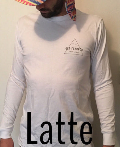 Latte - Long Sleeve Tee | Adrift Essentials Online Shopping | Surf Collective of Male & Female Clothing & Accessories