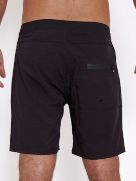 RECYCLED POLYESTER BOARDSHORT - TWO TONE BLACK | Adrift Essentials Online Shopping | Surf Collective of Male & Female Clothing & Accessories