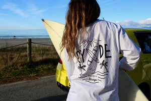 Straya Longsleeve ~ White | Adrift Essentials Online Shopping | Surf Collective of Male & Female Clothing & Accessories