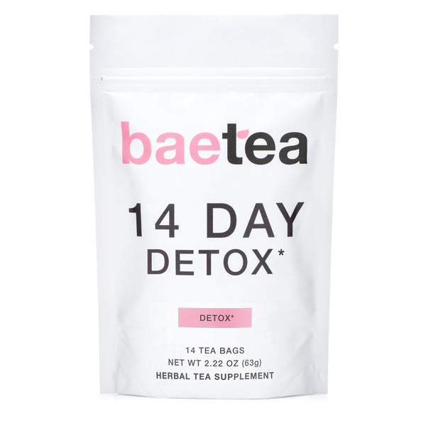 14 Day Detox* (Tea Bags) - available at Amazon