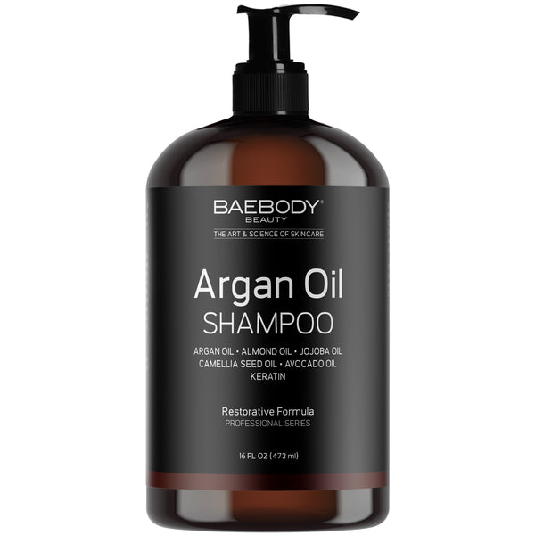 Argan Oil Shampoo - available at Amazon