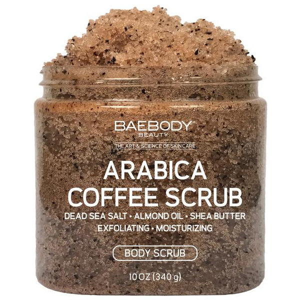 Arabica Coffee Scrub - available at Amazon