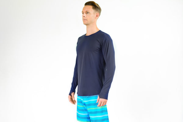 Mens Action Shirt - long sleeve breathable rashie