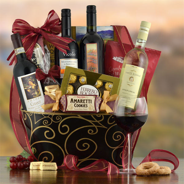 Bella Italiano Vino Gift Set