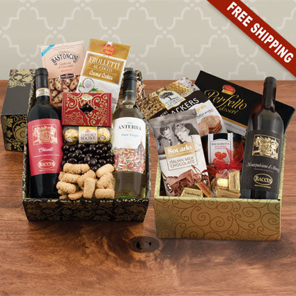 Taste of Italy Triple Wine Gift Set