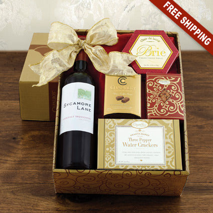 Wine (RED) Snack Gift set