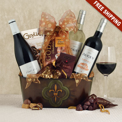 French Trio Gift Basket