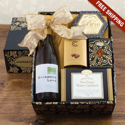 Wine (WHITE) Snack Gift Set