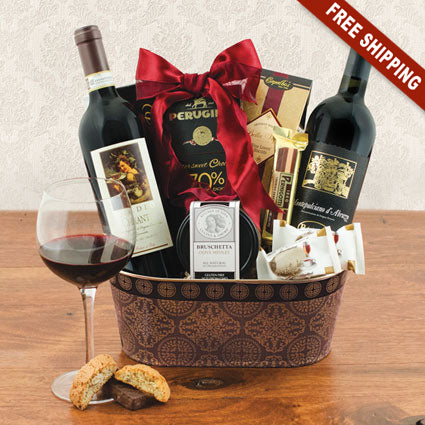 Taste of Tuscany Italian Wine Gift Set