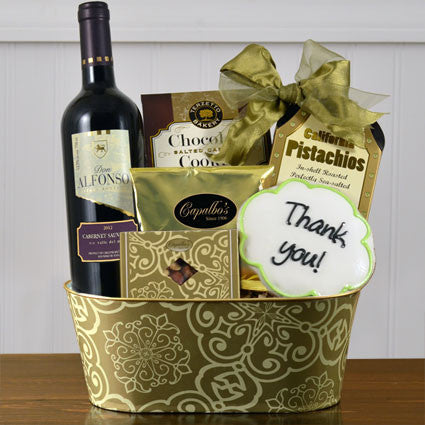 "Cabernet ""Thank You"" Basket"