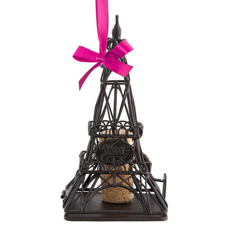 Cork Cage Ornament Eiffel Tower