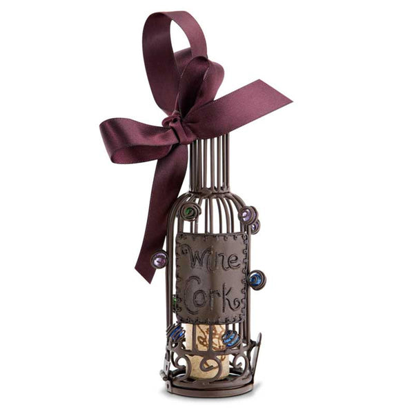 Cork Cage Ornament Wine Bottle