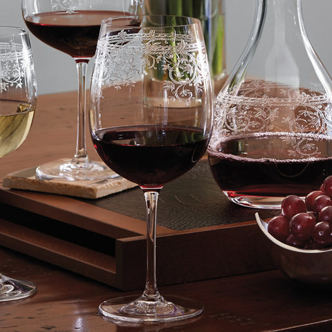 Lucca Bordeaux Glasses (Set of 6)