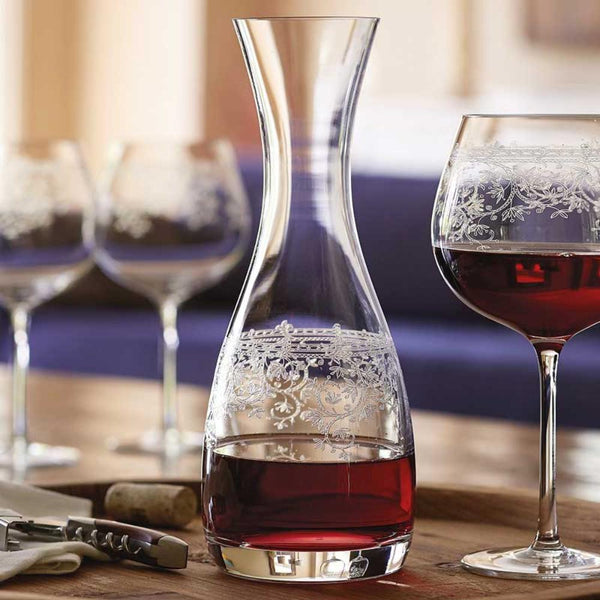 Lucca Etched Crystal Glass Decanter 750 ml,