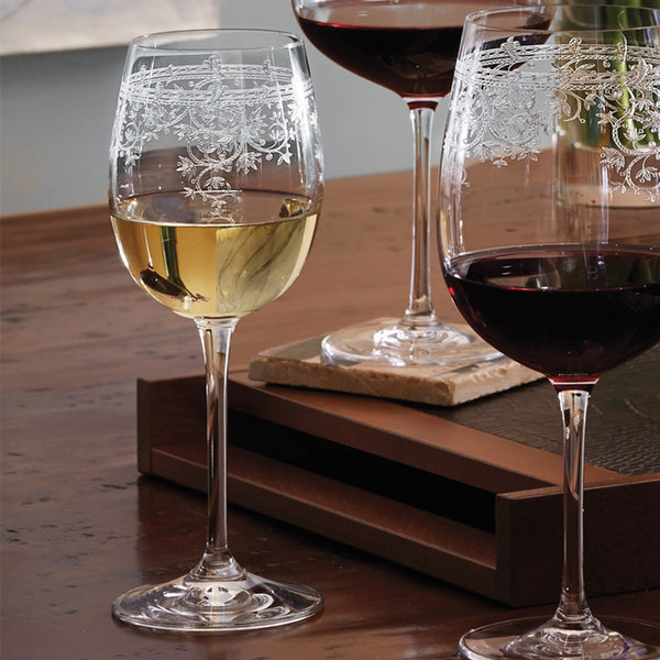 Lucca White Wine Glasses (Set of 6)