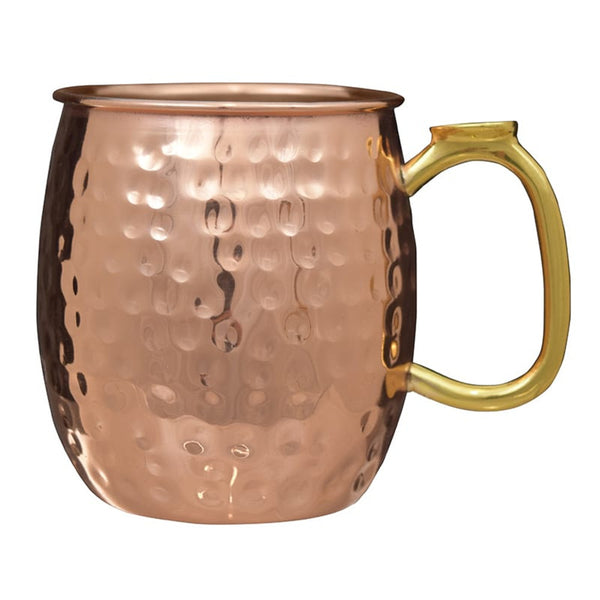 Moscow Mule Hammered Solid Copper Mugs Set of 2