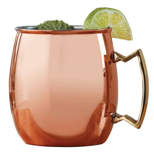 Moscow Mule Polished Copper Mugs