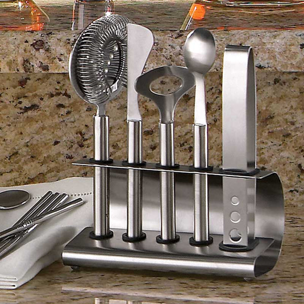 Le Creuset Stainless Steel 6-Piece Bar Tool Set