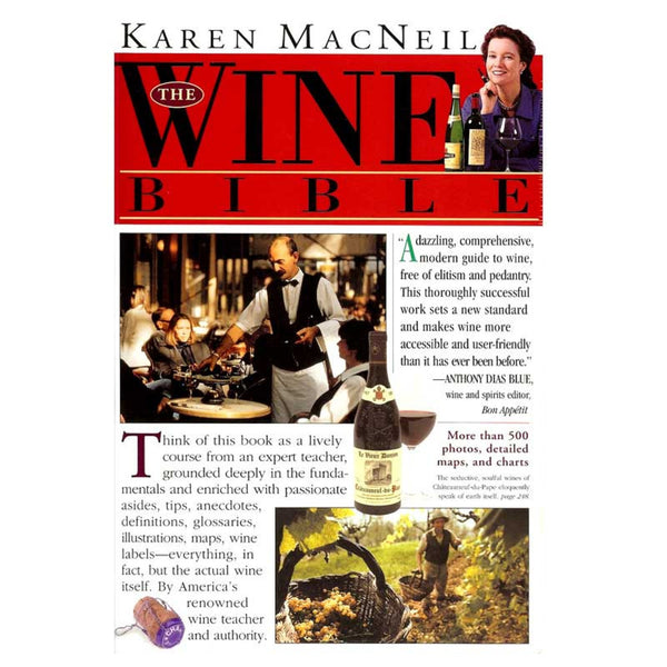 The Wine Bible Book, Paperback,