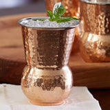 Tuscan Copper Tumblers Hammered (Set of 4)