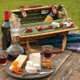 Wine and Cheese Tote Basket