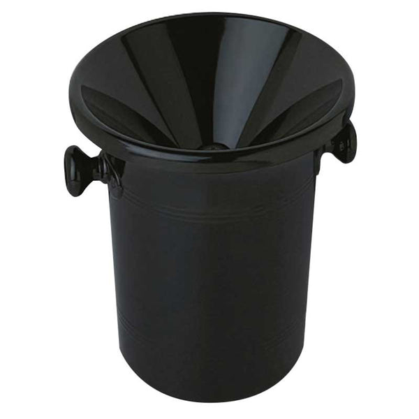 Wine Tasting Bucket, black acrylic