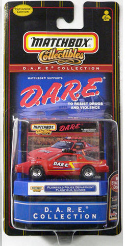 Matchbox D.A.R.E. Collection Exclusive Edition Plainfield Police Department Die Cast Car