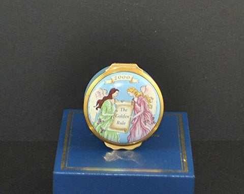 The Golden Rule Halcyon Days Enamels As Commissioned by Mary Kay, Inc. Year 2000