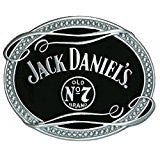 Modern New Jack Daniel's Old No 7 Oval Belt Buckle - Licensed G-5065