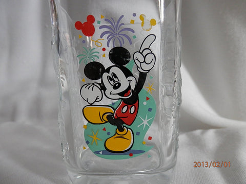 Modern New Walt Disney World 2000 Mcdonald's Commerative Glass