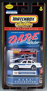 Matchbox D.A.R.E. Collection Exclusive Landover Hills Police Department Ford Crown Victoria Die-Cast