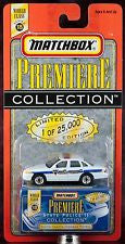 Modern New Matchbox Premiere Series 18 State Police Collection South Dakota Highway Patrol Die Cast Car
