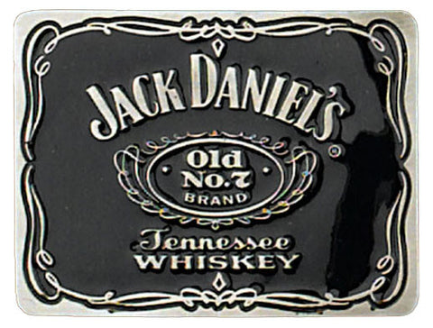 Modern New Jack Daniel's Old No. 7 Pewter Belt Buckle