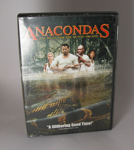 Modern Pre-Owned DVD Anacondas: The Hunt for the Blood Orchid 2004, Johnny Messner