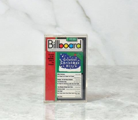 Vintage Billboard Magazine 1989 Greatest Christmas Hits From 1935 to 1954 Cassette Tape